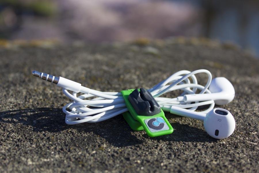 Headphone Holder in storage mode